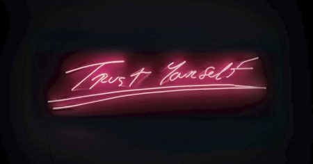 Tracey Emin-Trust Yourself-2012