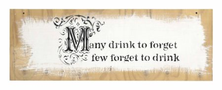 Banksy-Many drink to forget…-2005