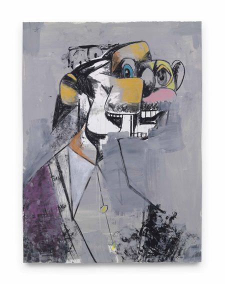 George Condo-Deconstructed Portrait-2009