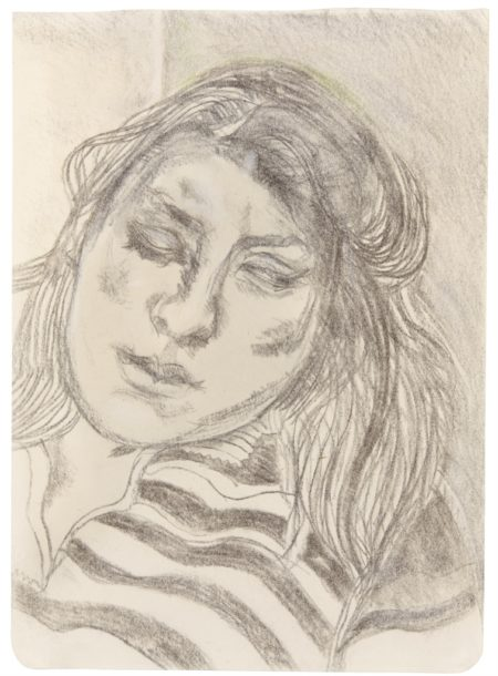 Lucian Freud-Portrait of Ib-1979
