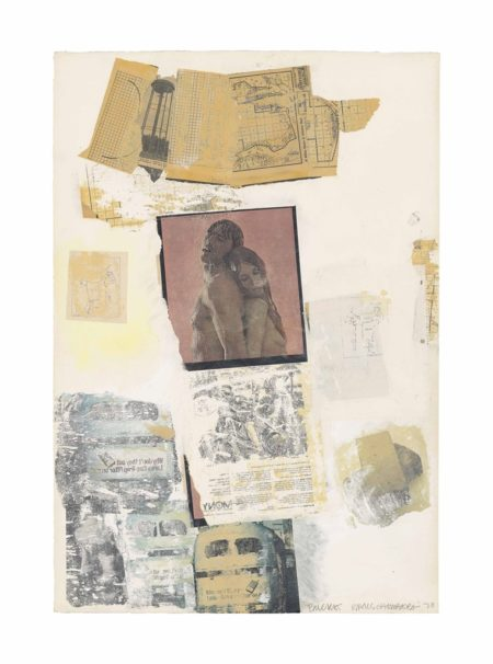 Robert Rauschenberg-Bucket (Syn-Tex)-1970