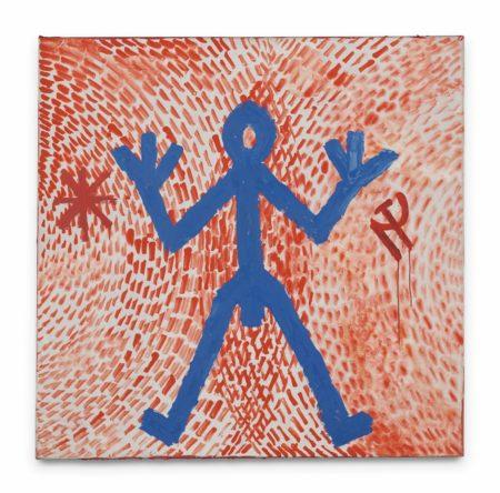 A.R. Penck-Figur Standart-1972