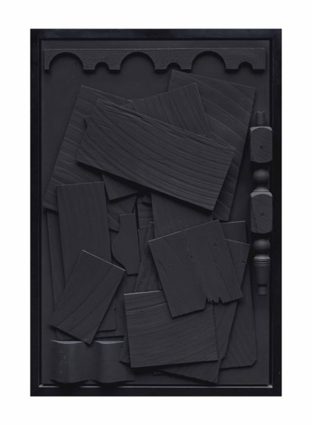 Louise Nevelson-Day/Night XVI-1973