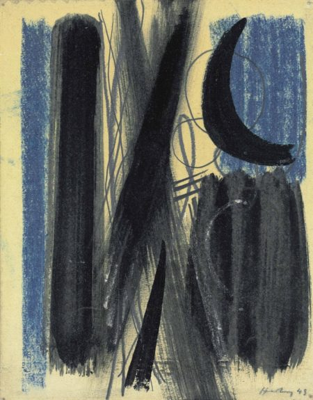 Hans Hartung-Untitled-1949