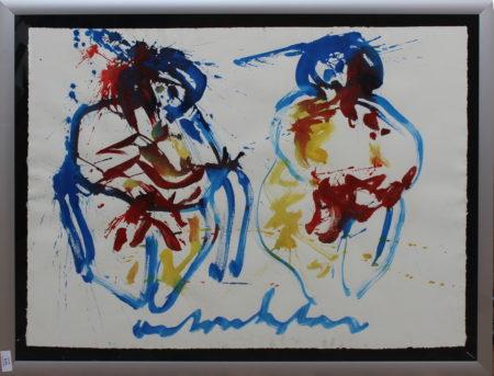 Anton Heyboer-Two figures-1980