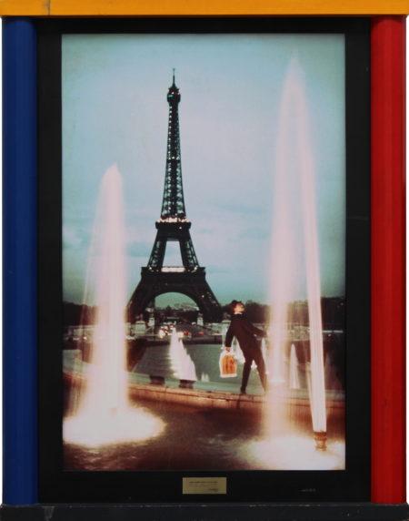 Bob Lens-James Dujardin passes the Eiffel Tower-1985