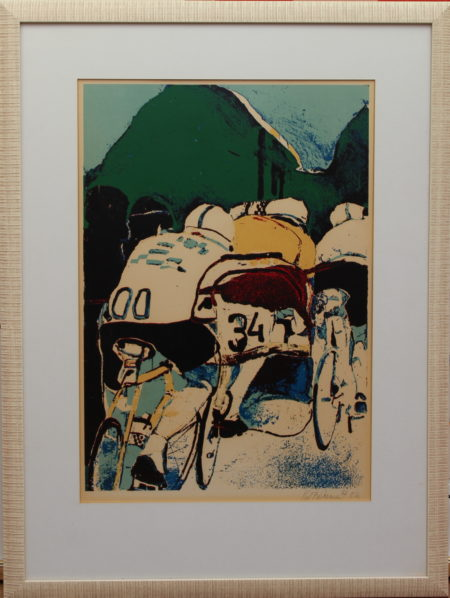 Kees van Bohemen-Cyclists-1967