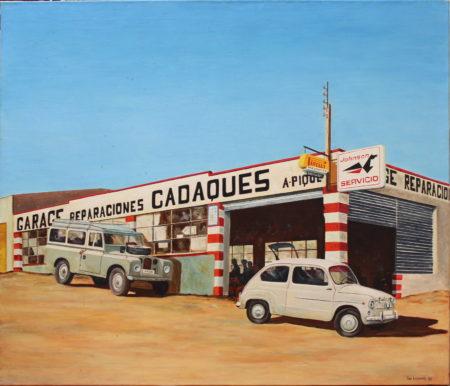 Ton Leenarts-Garage Cadaques-1982