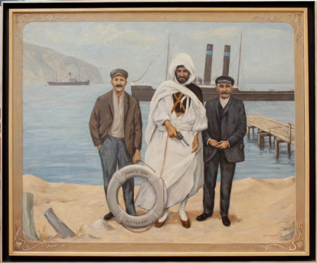 Jan Camphuis - Uncle Anne with the Bedouin chieftain and the bosun-