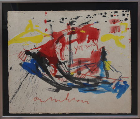 Anton Heyboer-Chicken and Sailboat-1980