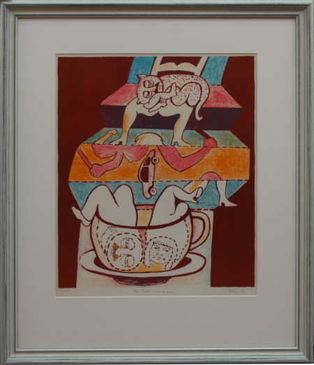 Hugh Weiss-The Fall into a Cup-1991