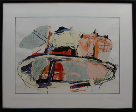 Arty Grimm-Abstract Composition-1989