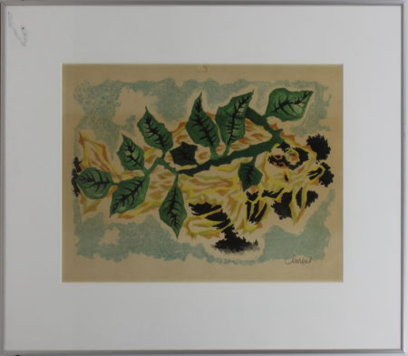 Jean Lurcat-Branch with leaves-