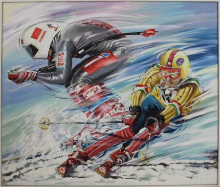 Jan Hofland-Skiers-1990