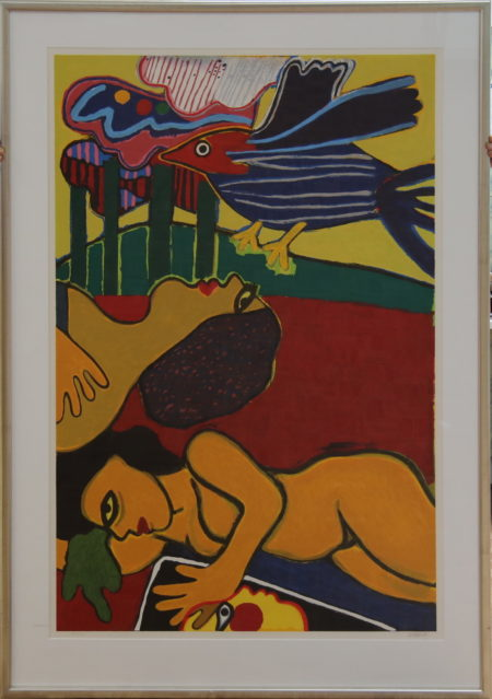 Corneille-Woman and Bird-