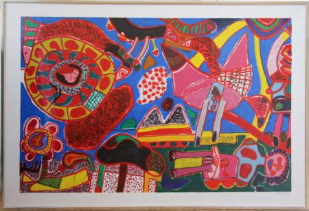 Corneille-Jardin des delices-1991