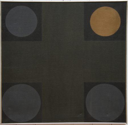 Guy Vandenbranden-Composition with Circles-1961