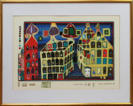Friedensreich Hundertwasser-It hurts to wait with love if love is somewhere else-1971