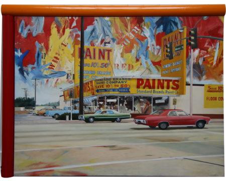 Araun Gordijn-Paint Store-1981