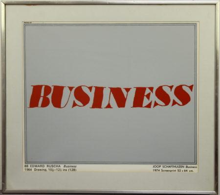 Joop Schafthuizen-Business-1974