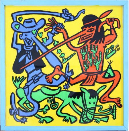 Hans Eijkenboom-Cowboys and Indians-
