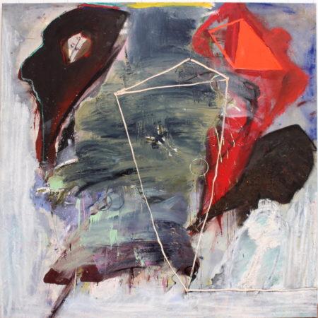 Arie van Selm-Imaginary portrait-1986