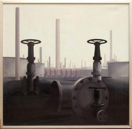 Harry van der Woerd-Refinery-