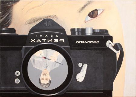 Bertus Weeda-Double self portrait-1980
