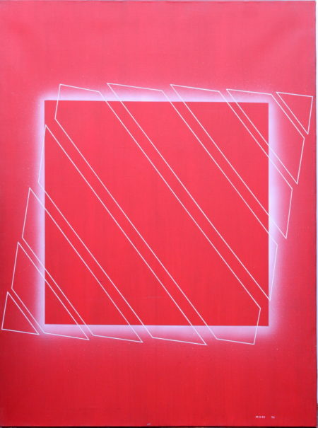 Mitsouko Mori-Brise Carre Rouge-1971