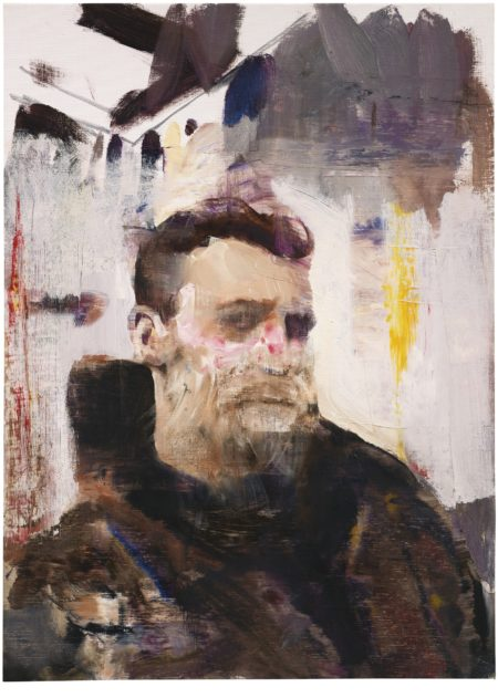 Adrian Ghenie-Self Portrait As A Monkey-2011