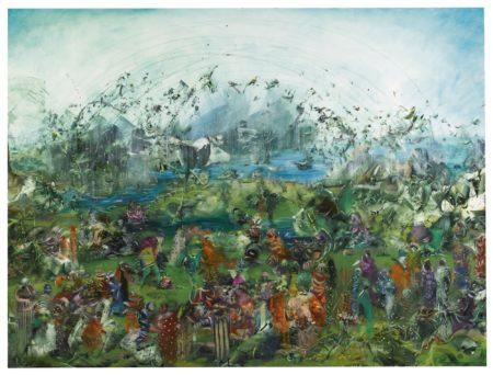 Ali Banisadr - The Garden-2010
