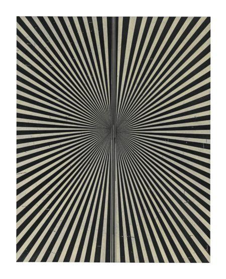 Mark Grotjahn-Untitled (Creamsicle 864)-2010