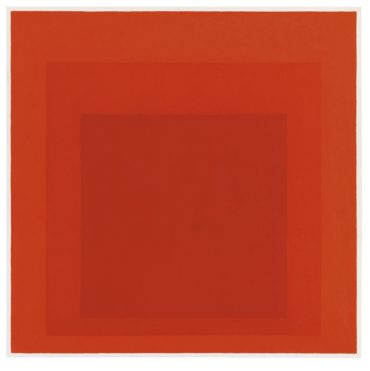 Josef Albers-Study For Homage To The Square: Signal-1966