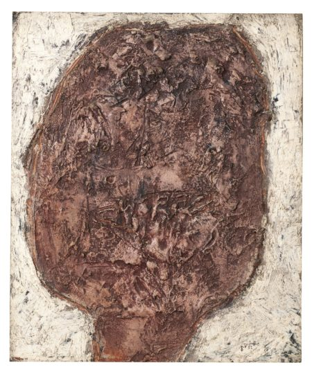 Jean Dubuffet-Tete Abondante-1952