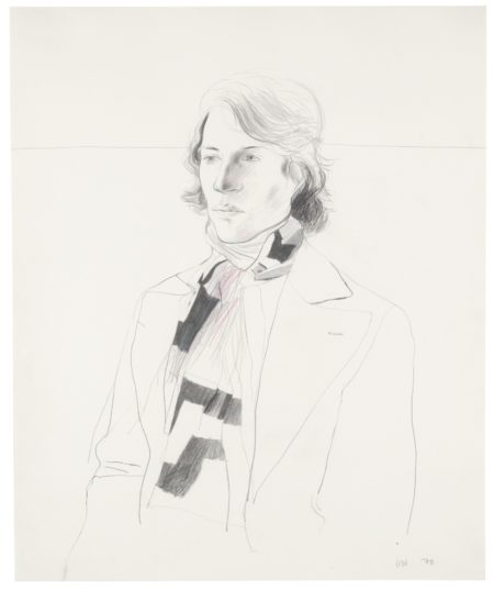 David Hockney-Peter With Scarf-1970