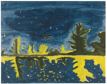 Peter Doig-Untitled (Study For Milky Way)-1990