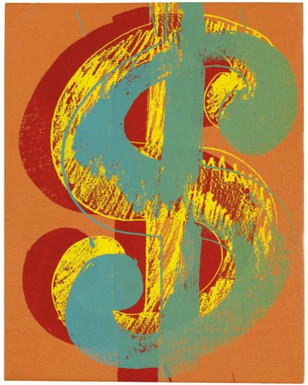Andy Warhol-Dollar Sign-1980