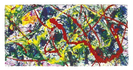 Sam Francis-Untitled (Osamu Hand Print)-1989