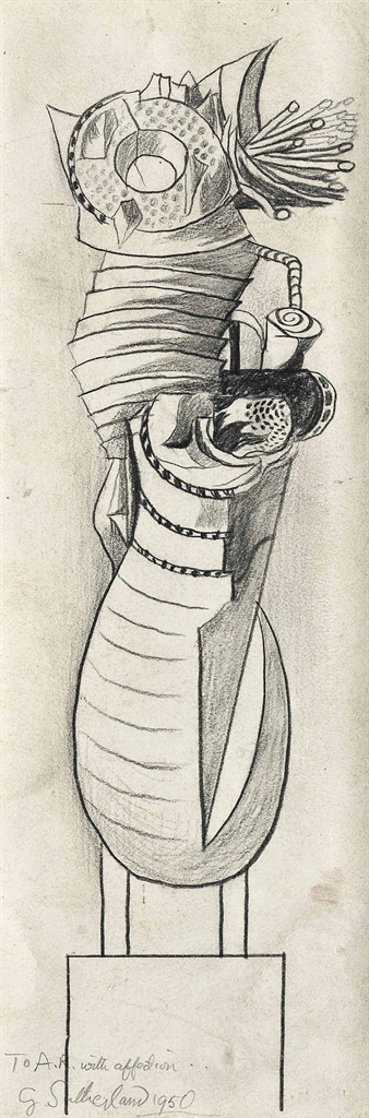 Graham Sutherland-Standing Form-1950