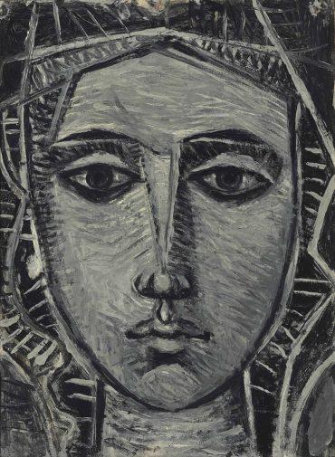 John Craxton-Head of a woman-1950