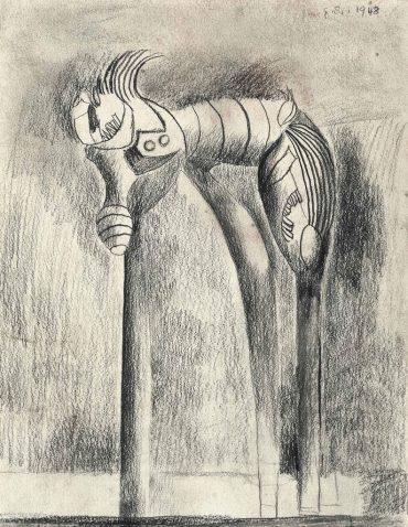 Graham Sutherland-Standing Form-1948