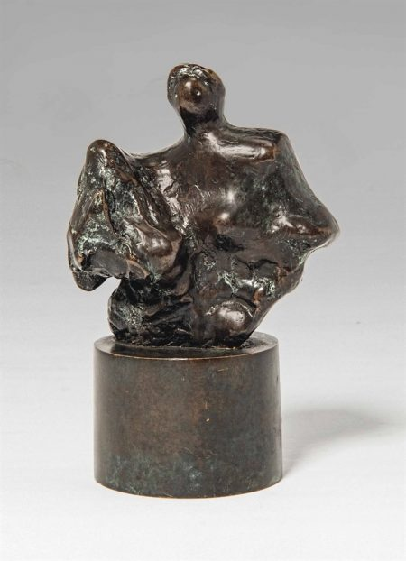 Henry Moore-Mother and Child: Rock-