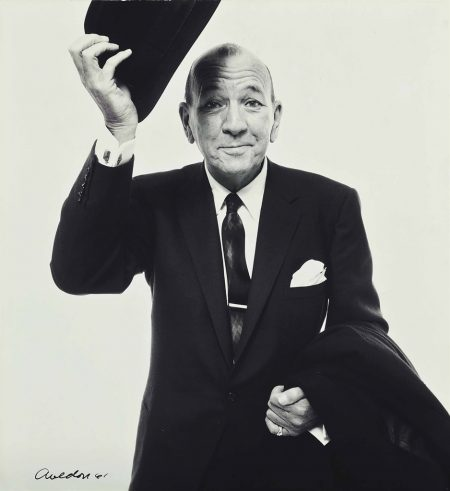 Richard Avedon-Noel Coward (Tipping hat) 1961-1961