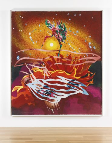 James Rosenquist-The Bird Of Paradise Approaches The Hot Water Planet (Glenn214)-1989