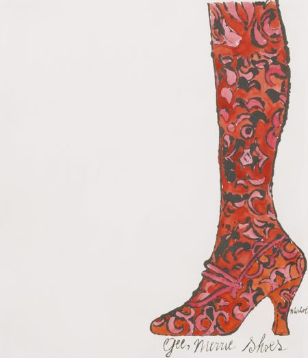 Andy Warhol-Gee Merrie Shoes (Not In F. & S.)-1956