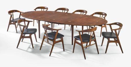 Finn Juhl - Judas Dining Table-1965