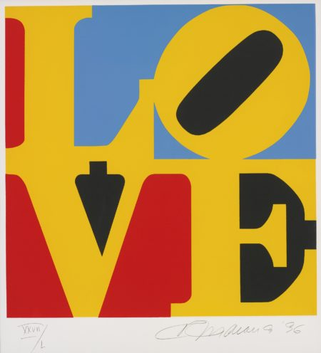 Robert Indiana-Love -1996