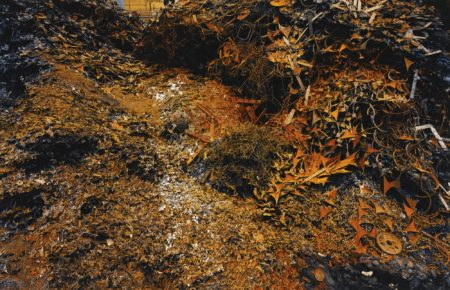 Edward Burtynsky-Ferrous Bushling #7 Hamilton Ontario-1997