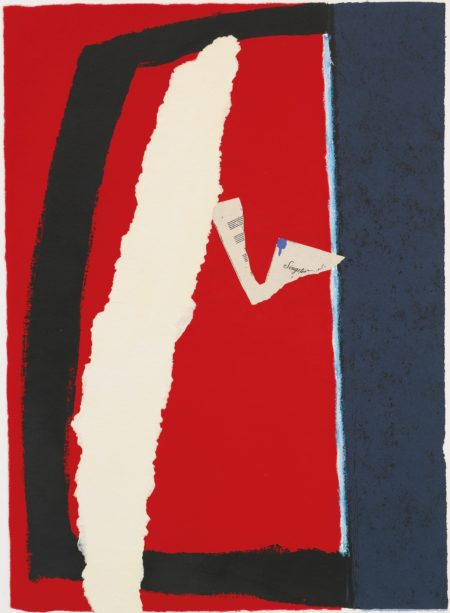 Robert Motherwell-Game Of Chance (Engberg & Banach 377)-1987