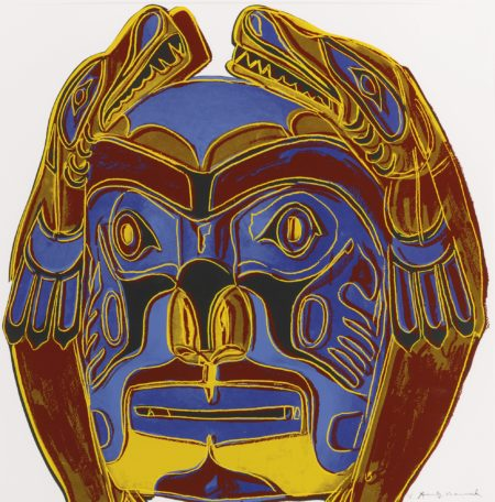 Andy Warhol-Northwest Coast Mask (F. & S. II.380)-1986
